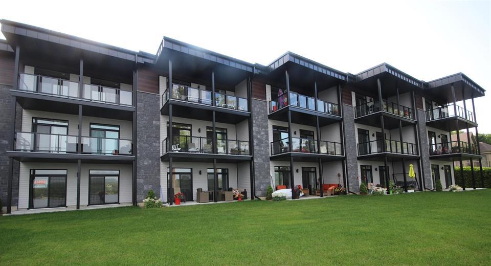 réalisation 5 résidentielle appartement Plessisville